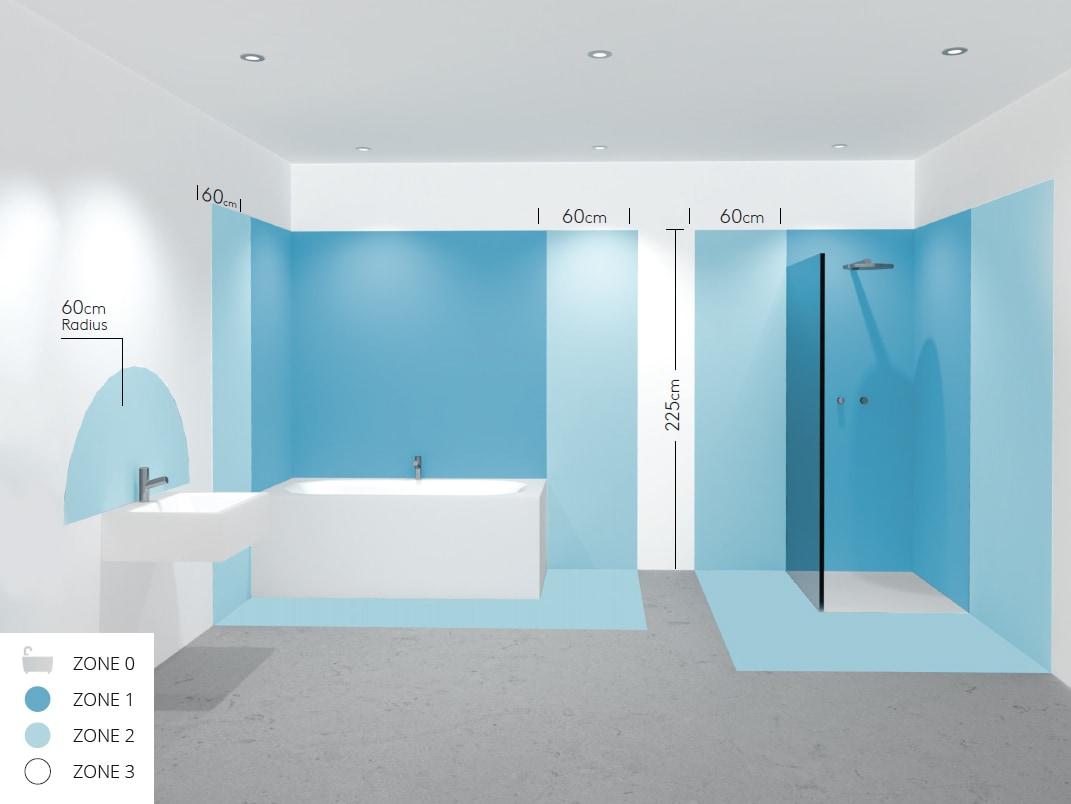 Woher weiß ich, ob ein Beleuchtungskörper im Badezimmer installiert ...